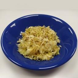 Salade de chou simple